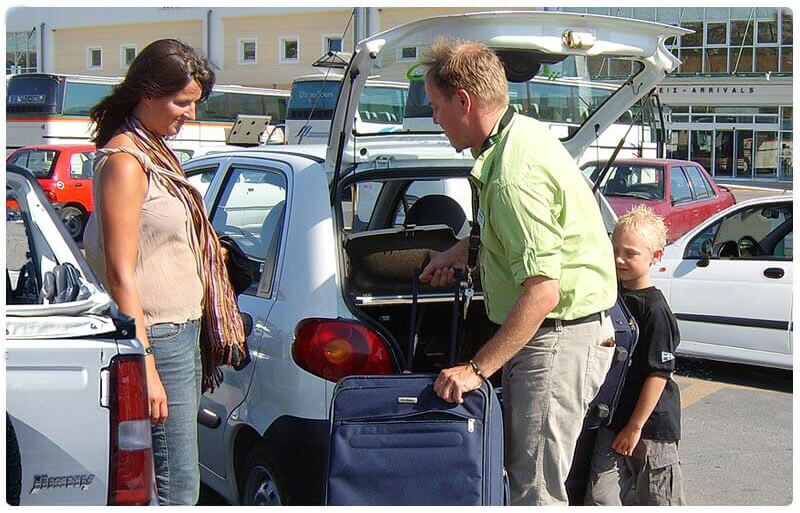 iDrive rent a car Airport service
